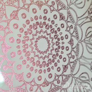 Mandala (Rosa & White)